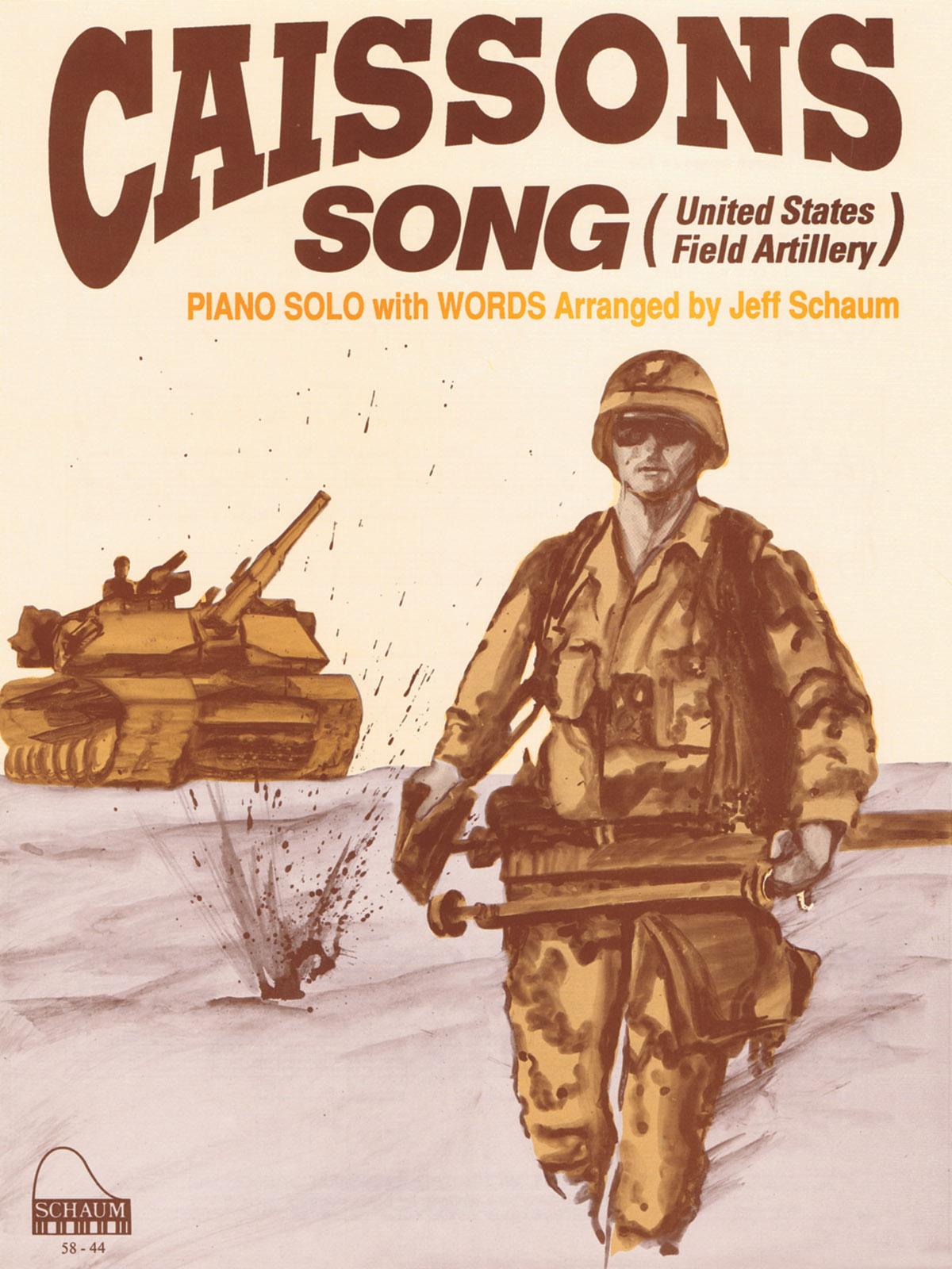 Caissons Song: Piano: Instrumental Album