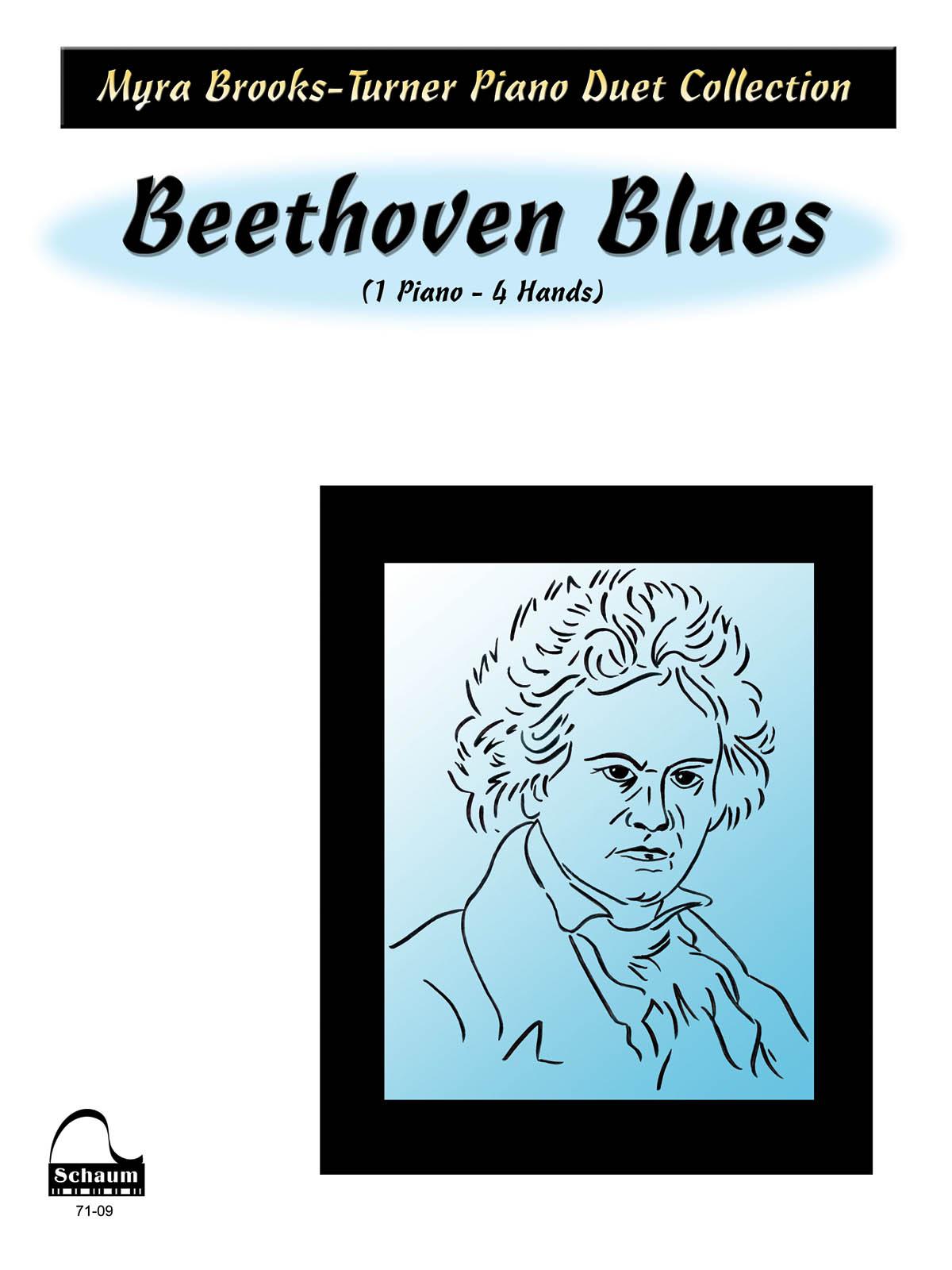 Beethoven Blues: Piano Duet: Instrumental Album