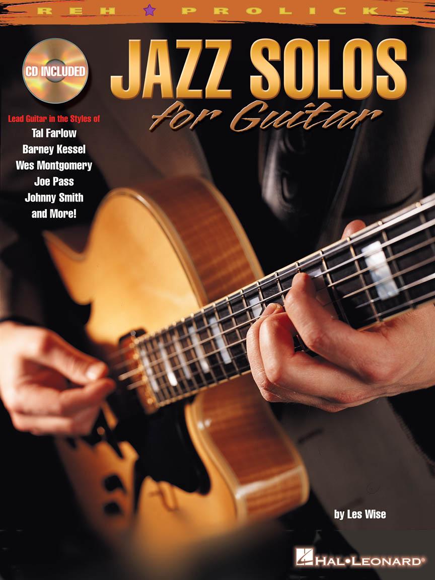 Jazz Solos For Guitar: Guitar Solo: Instrumental Tutor