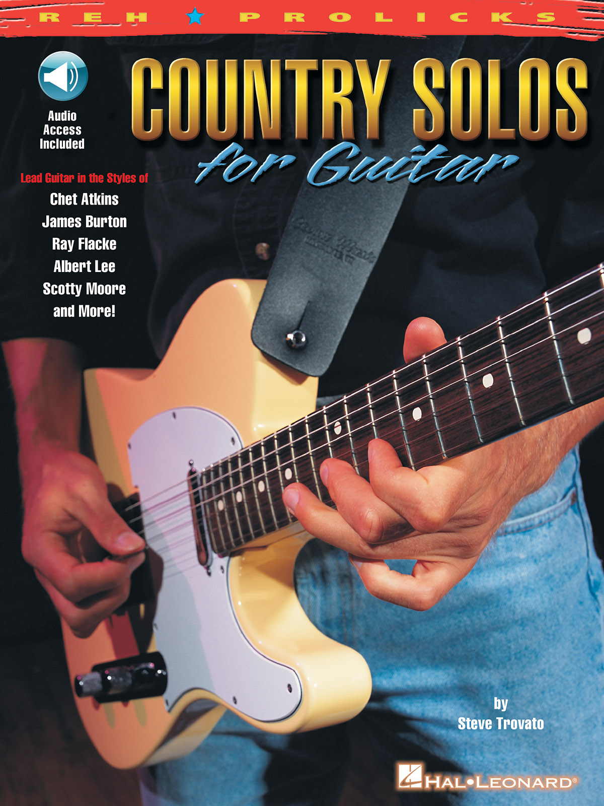Country Solos For Guitar: Guitar Solo: Instrumental Tutor