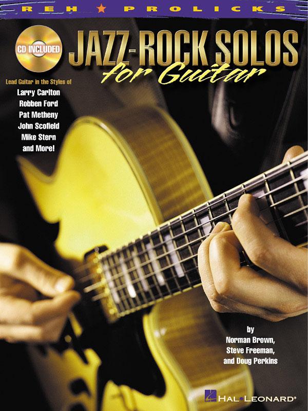 Jazz-Rock Solos For Guitar: Guitar Solo: Instrumental Tutor