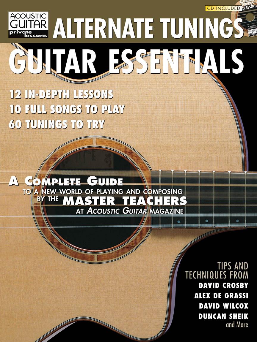 Alternate tunings guitar essentials: Guitar Solo: Instrumental Tutor