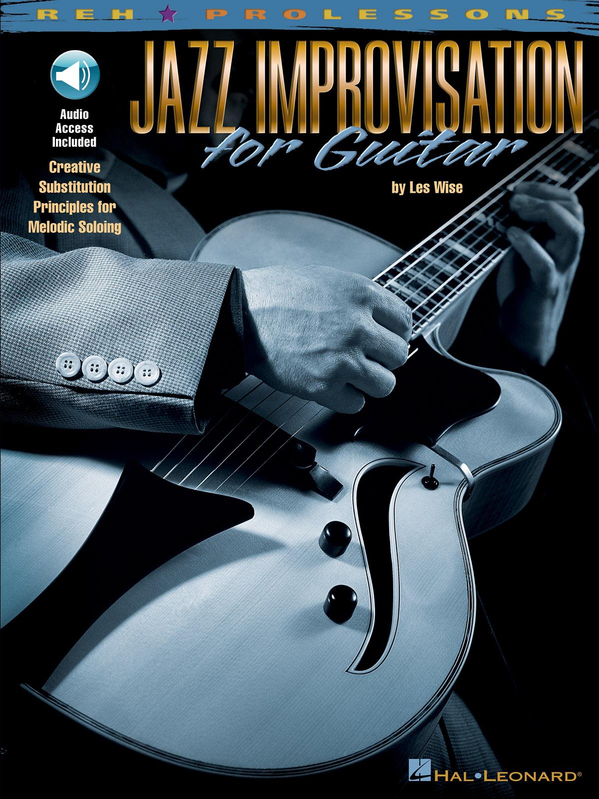 Jazz Improvisation for Guitar: Guitar Solo: Instrumental Tutor