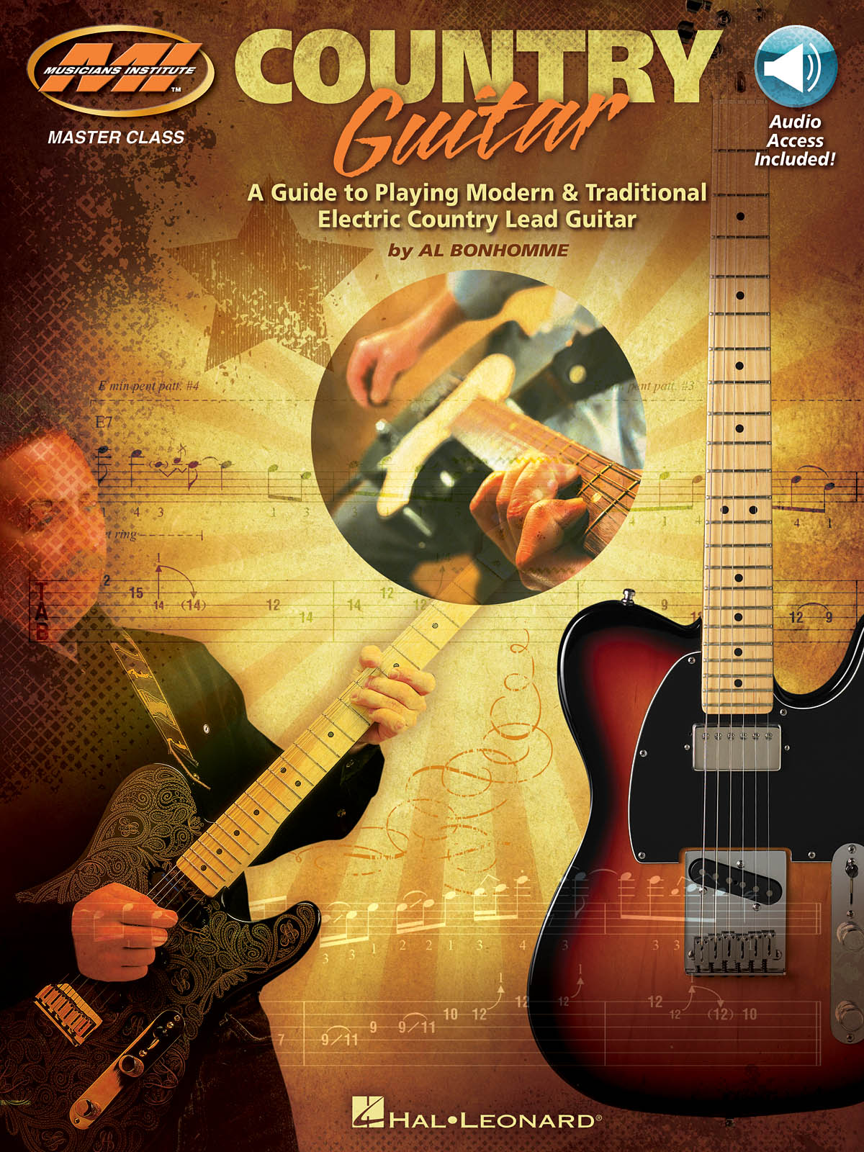 Al Bonhomme: Country Guitar: Guitar Solo: Instrumental Tutor