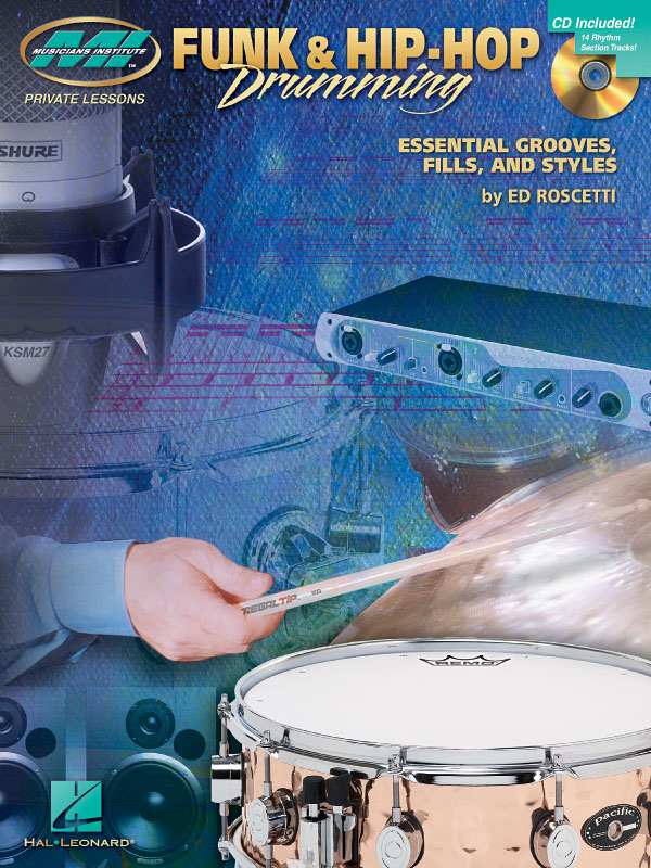 Ed Roscetti: Funk & Hip-Hop Drumming: Drums: Instrumental Tutor