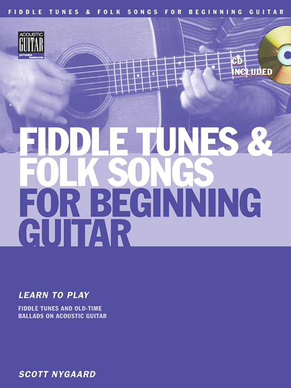 Fiddle Tunes And Folk Songs For Beginning Guitar: Guitar Solo: Instrumental