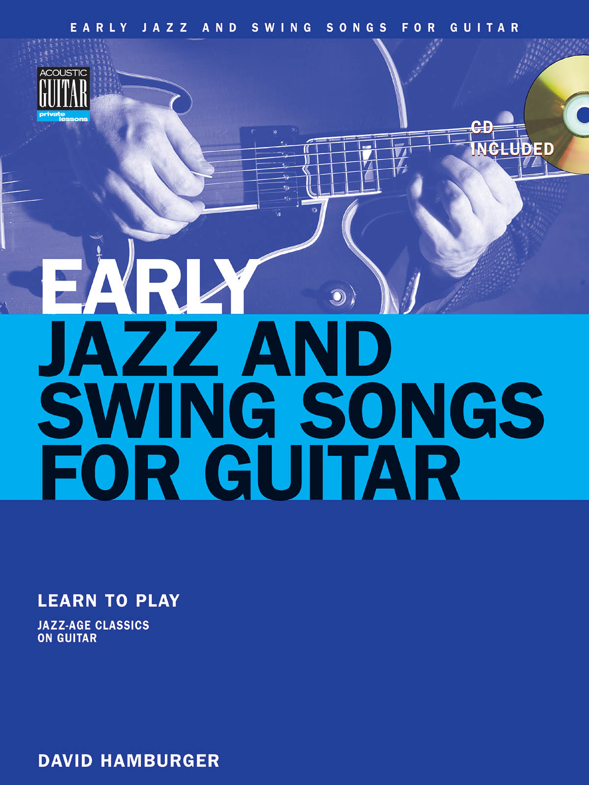 David Hamburger: Early Jazz And Swing Songs: Guitar Solo: Instrumental Album