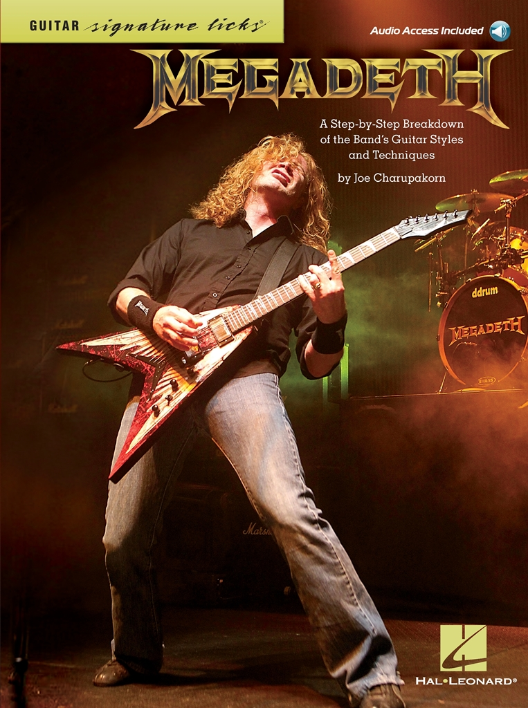 Click to view product details and reviews for Megadeth Signature Licks Guitar Artist Songbook.