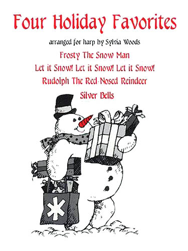 Four Holiday Favorites: Harp Solo: Instrumental Work