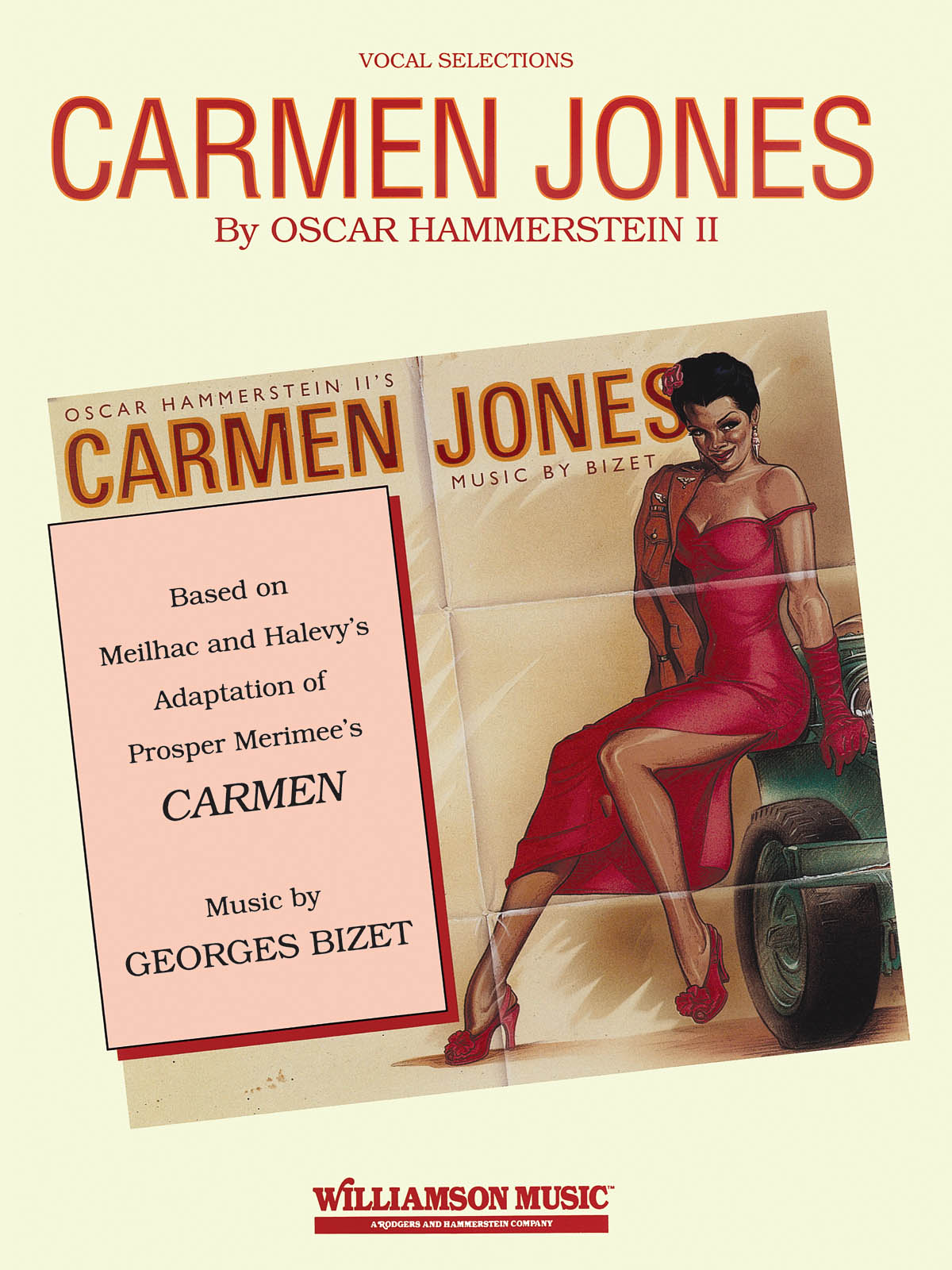 Georges Bizet: Carmen Jones: Piano Vocal and Guitar: Mixed Songbook
