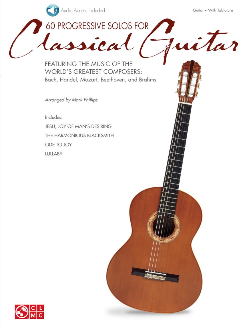 60 Progressive Solos for Classical Guitar: Guitar Solo: Instrumental Album
