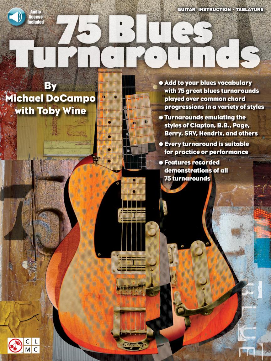 75 Blues Turnarounds: Guitar Solo: Instrumental Album