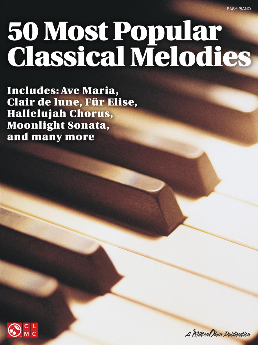 50 Most Popular Classical Melodies: Easy Piano: Instrumental Album