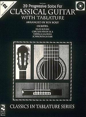 39 Progressive Solos for Classical Guitar: Guitar Solo: Instrumental Album