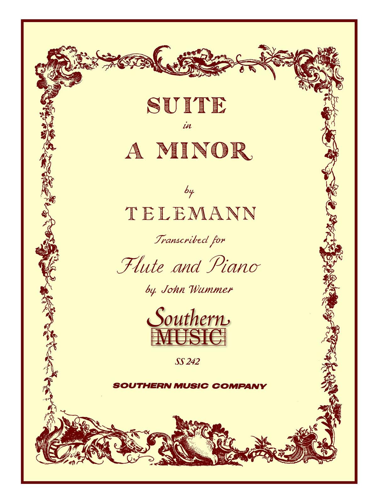 Georg Philipp Telemann: Suite In A Minor: Flute and Accomp.: Instrumental Album