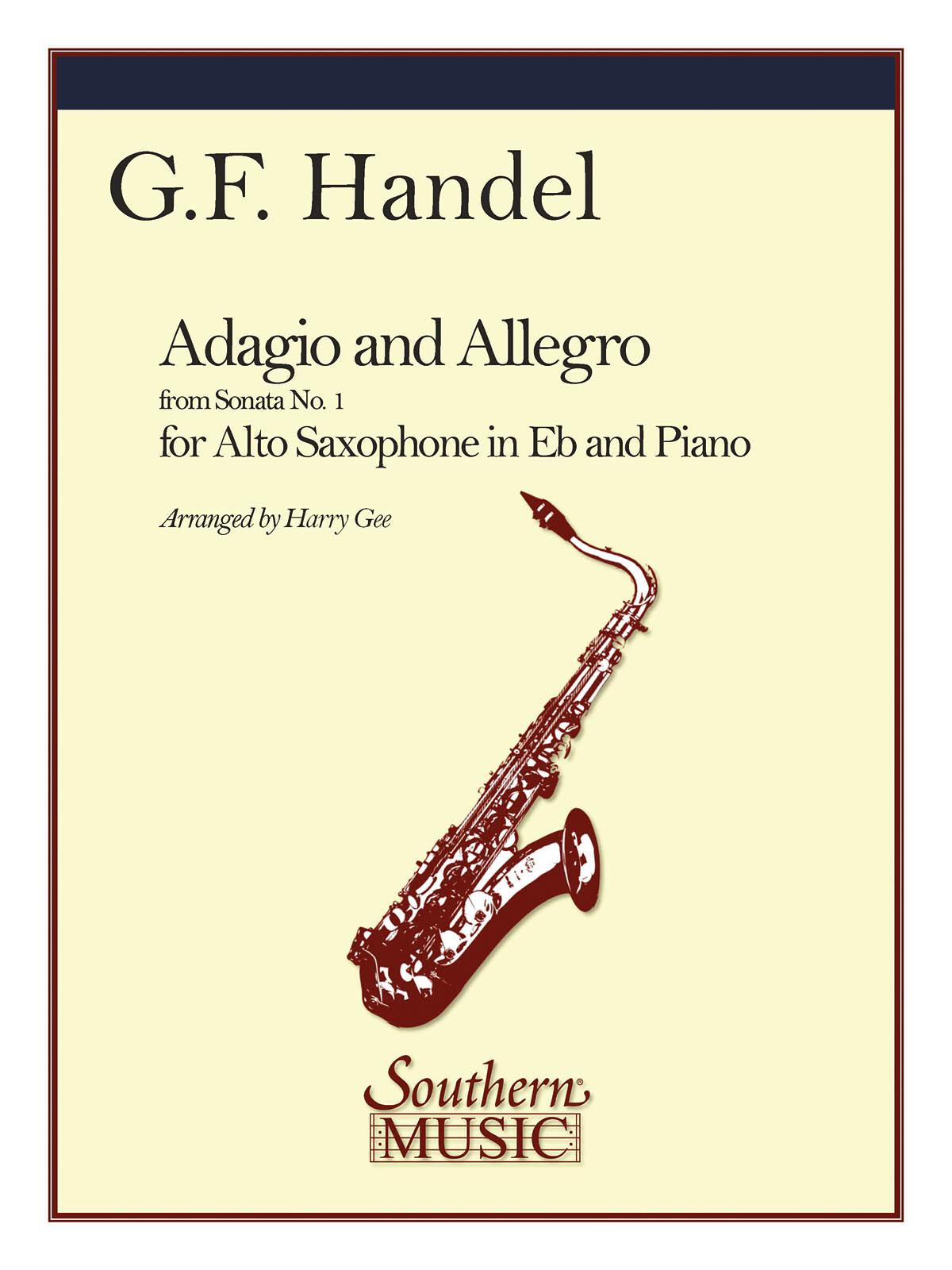 Georg Friedrich Händel: Adagio And Allegro: Alto Saxophone: Instrumental Album