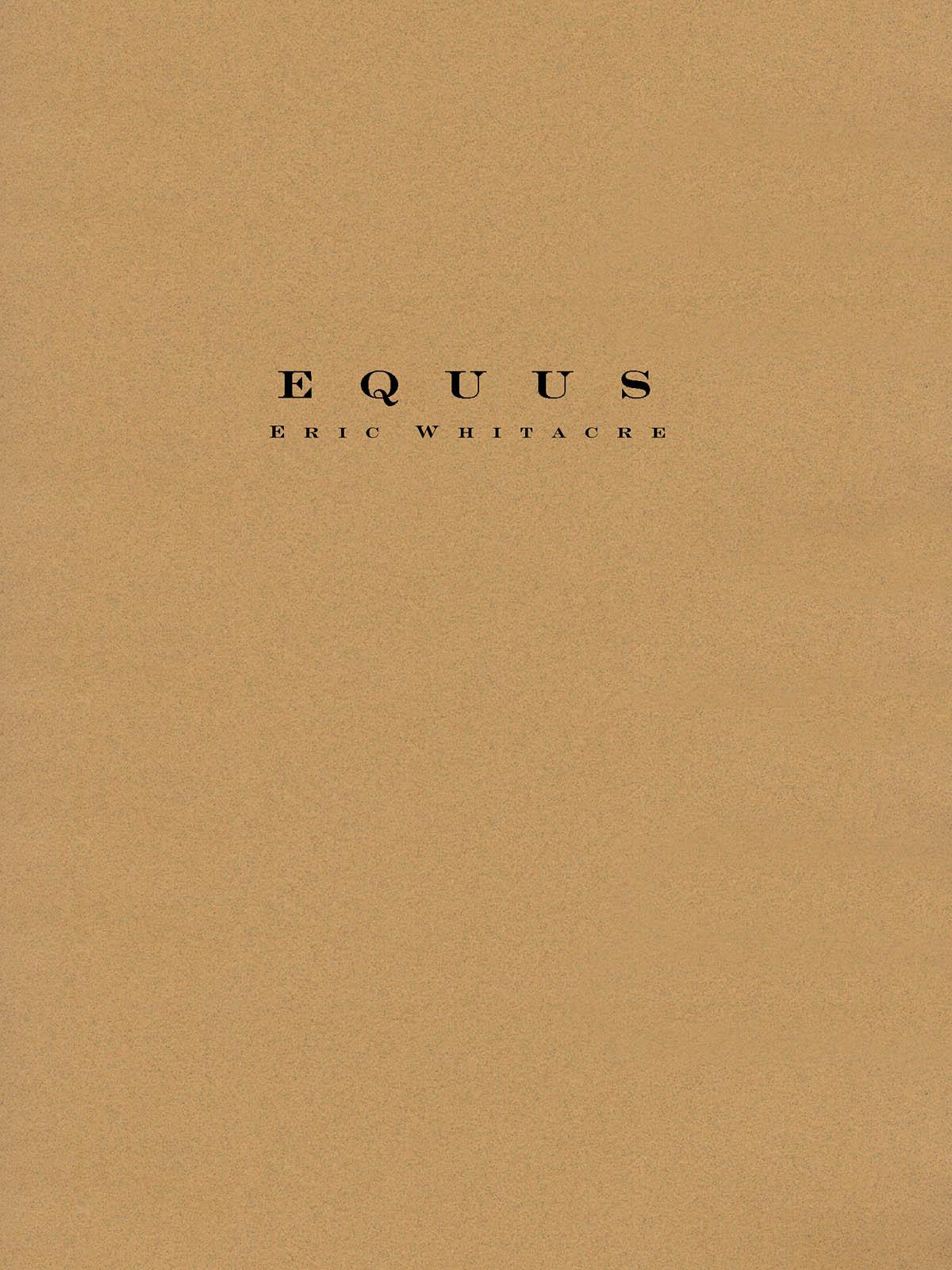 Eric Whitacre: Equus: Concert Band: Score and Parts