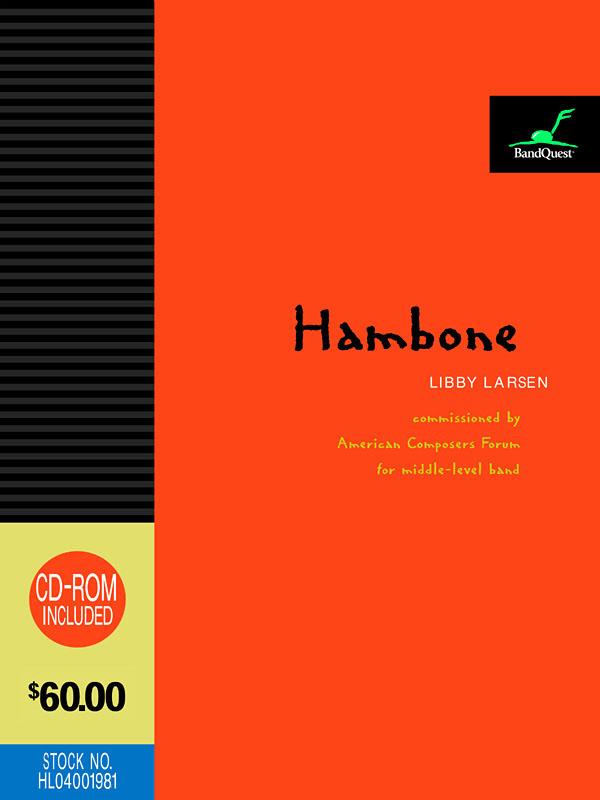 Hambone: Concert Band: Score