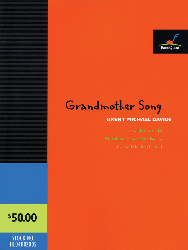 Grandmother Song: Concert Band: Score & Parts