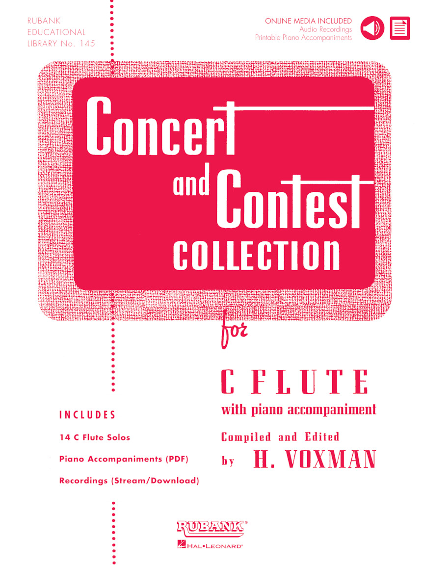Concert And Contest Collection for Flute: Flute Solo: Instrumental Album