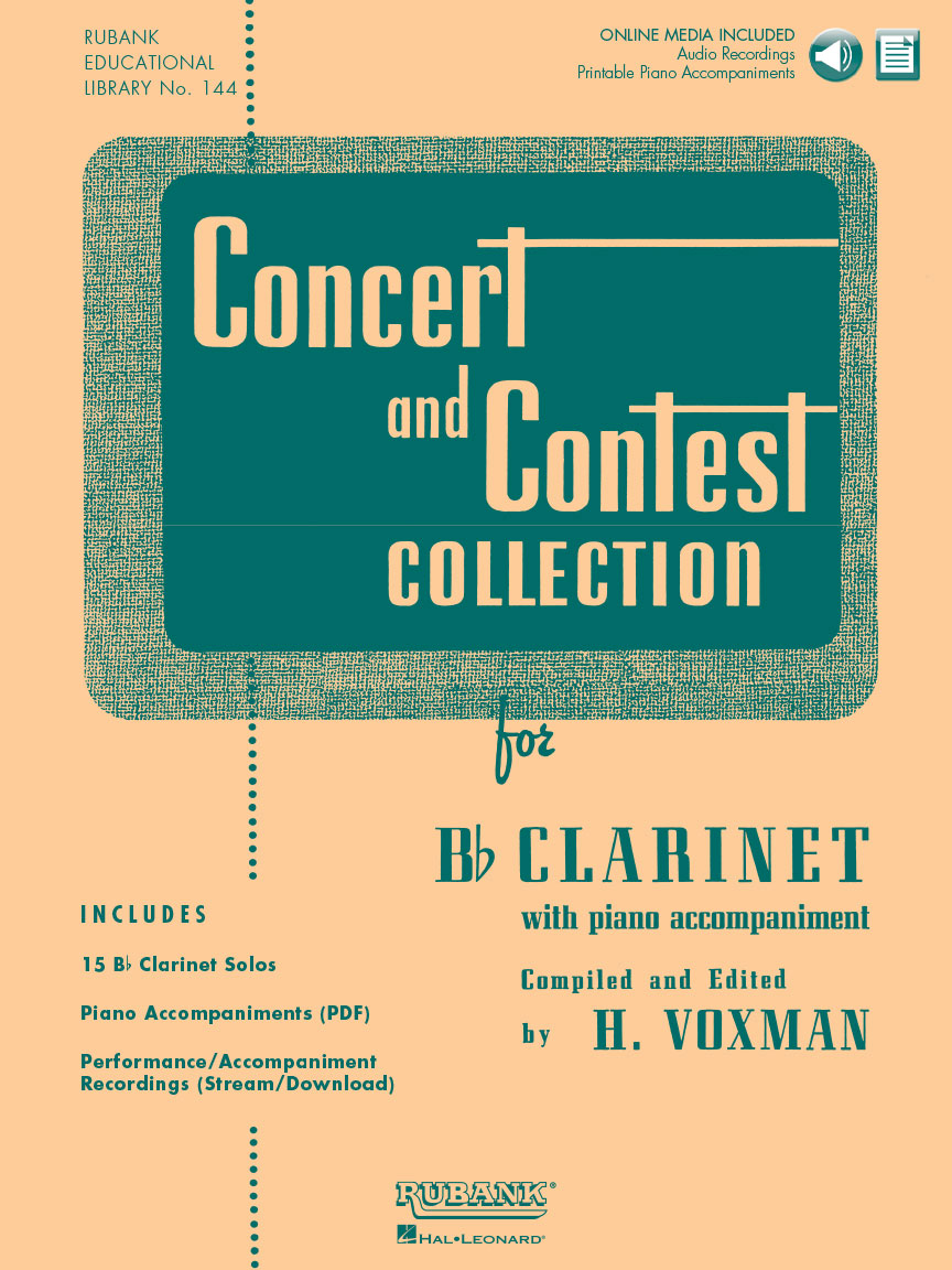 Concert and Contest Collection for Clarinet: Clarinet Solo: Instrumental Album