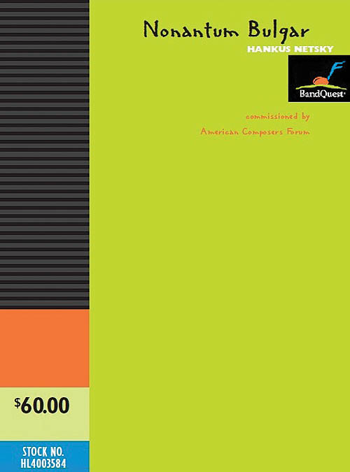 Hankus Netsky: Nonantum Bulgar: Concert Band: Score & Parts