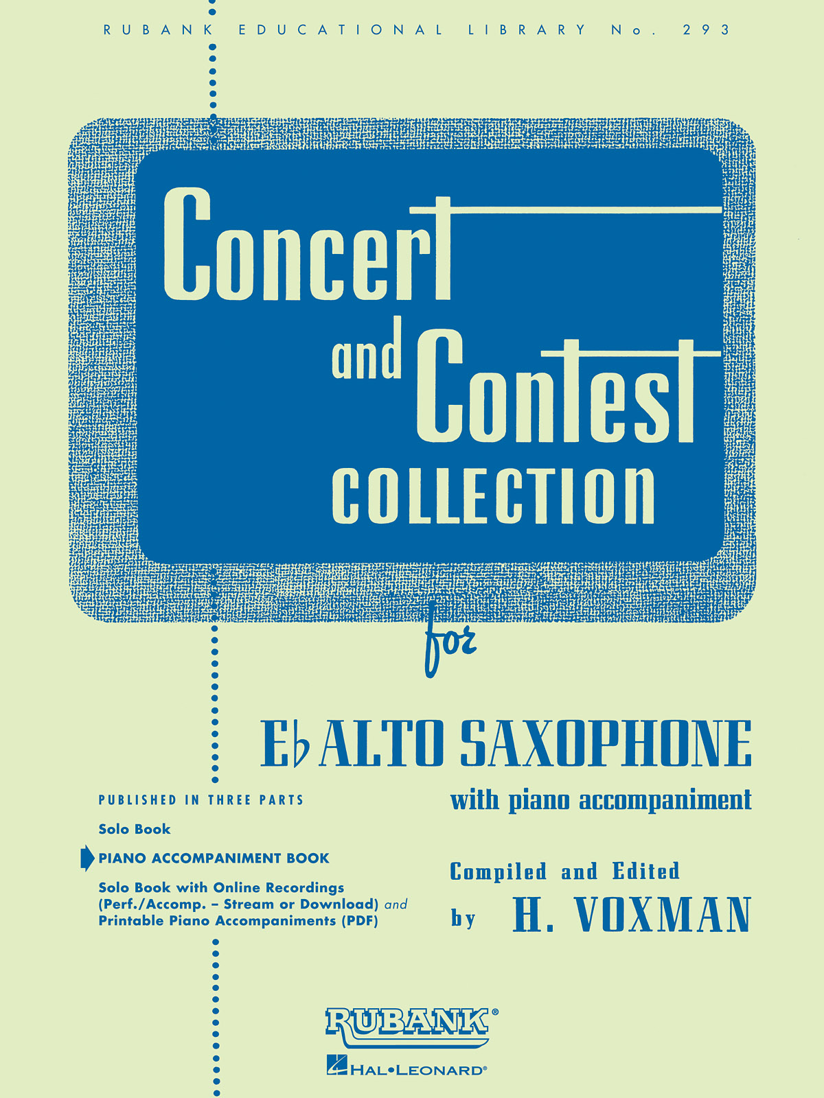 Concert And Contest Collection-Alto Saxophone (PA): Saxophone: Instrumental