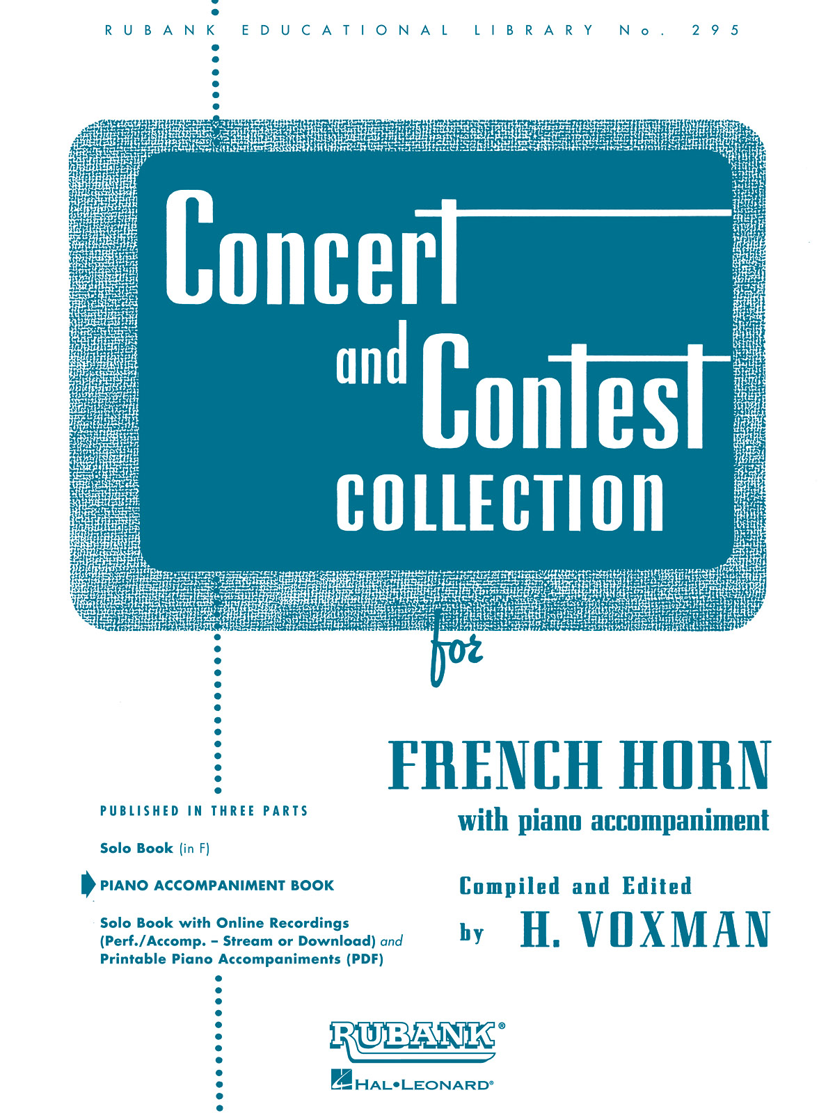 Concert And Contest Collection - Horn (PA): French Horn and Accomp.: