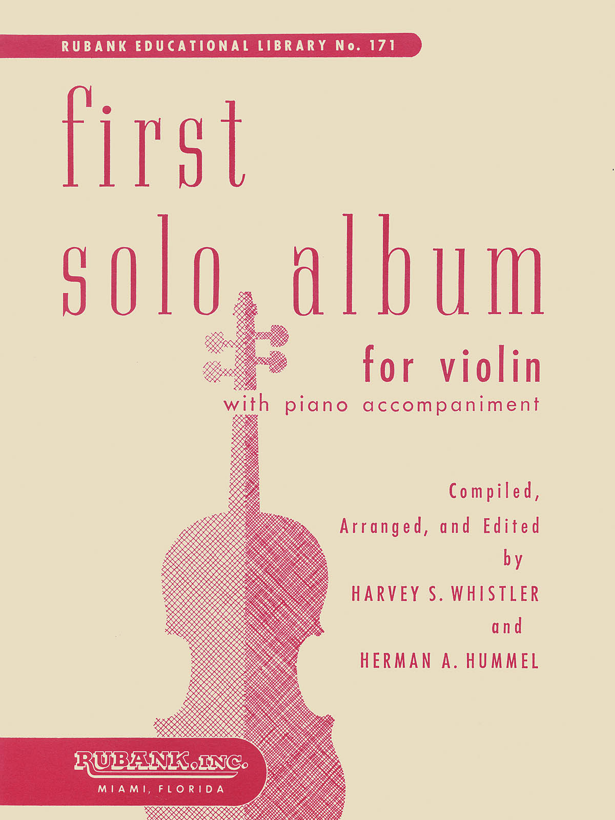 First Solo Album For Violin: Violin and Accomp.: Instrumental Album