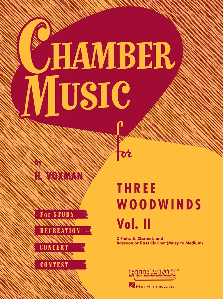 Chamber Music for Three Woodwinds Vol. 2: Woodwind Ensemble: Part