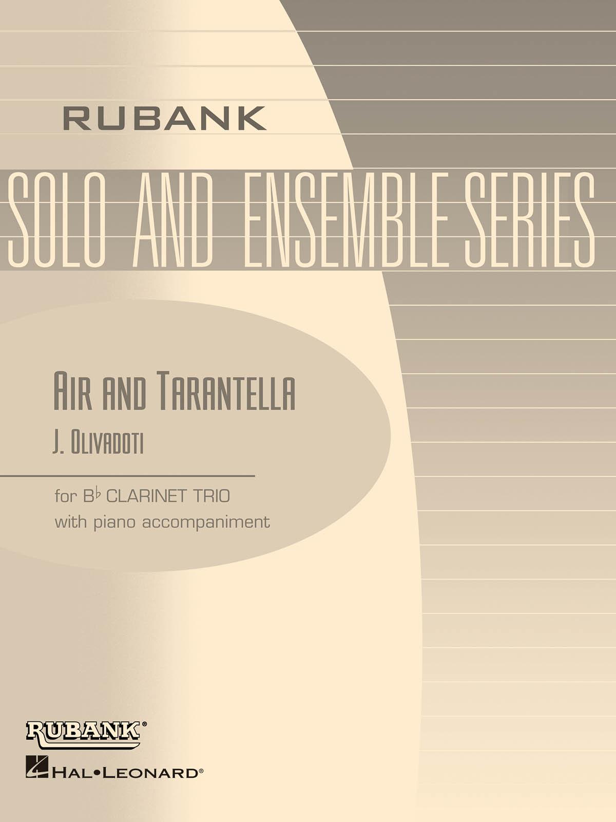 Air and Tarantella: Clarinet Solo: Instrumental Album