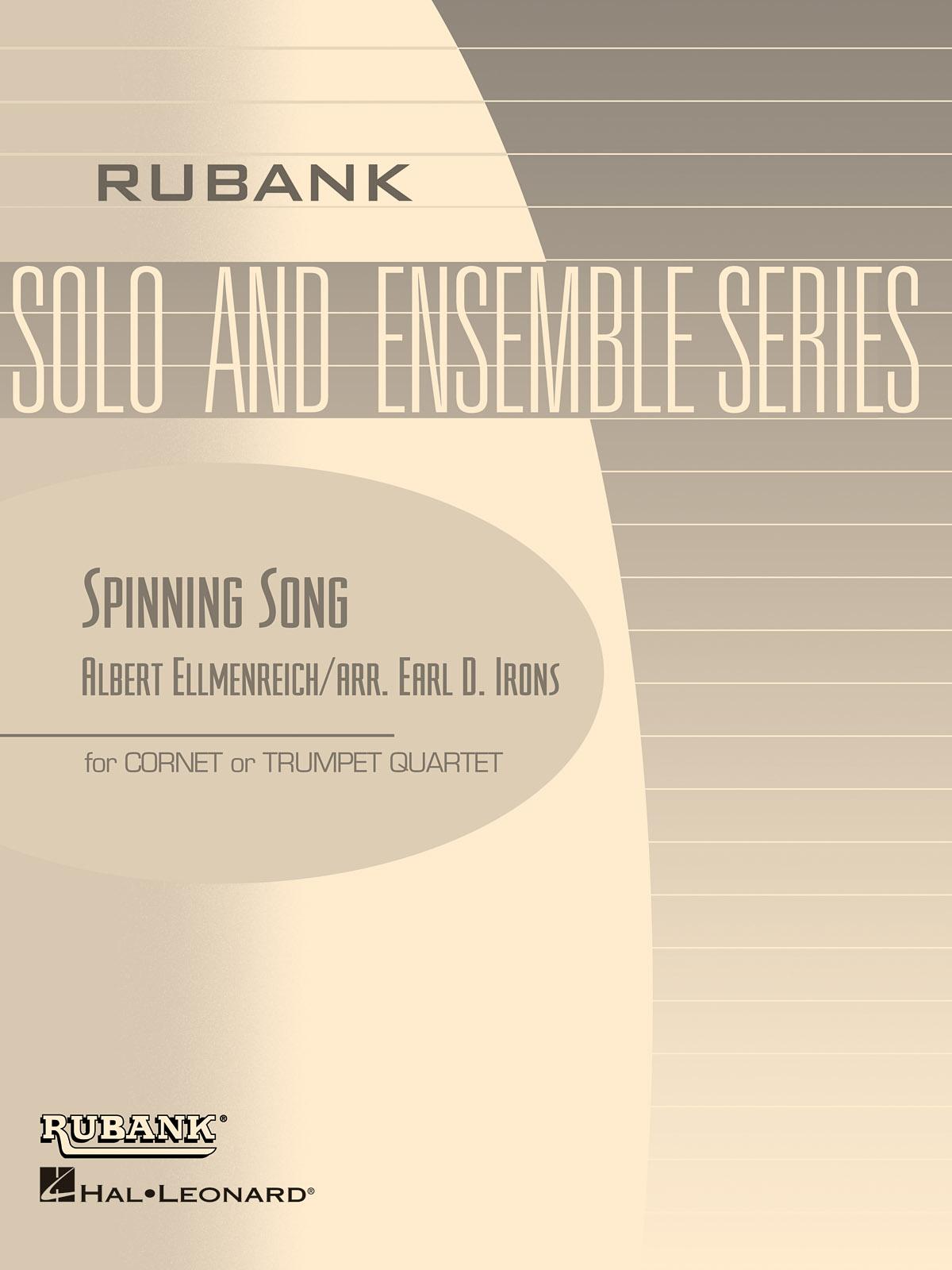 Albert Ellmenreich: Spinning Song: Trumpet Ensemble: Part