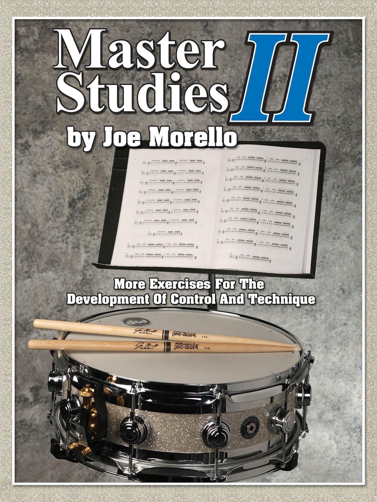 Master Studies II: Drums: Instrumental Tutor