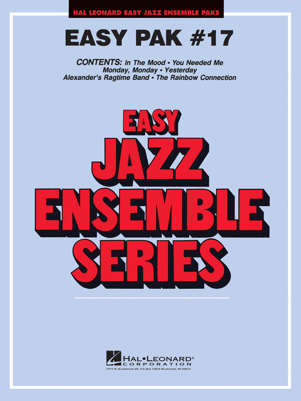 Easy Jazz Ensemble Pak 17: Jazz Ensemble: Score  Parts & Audio