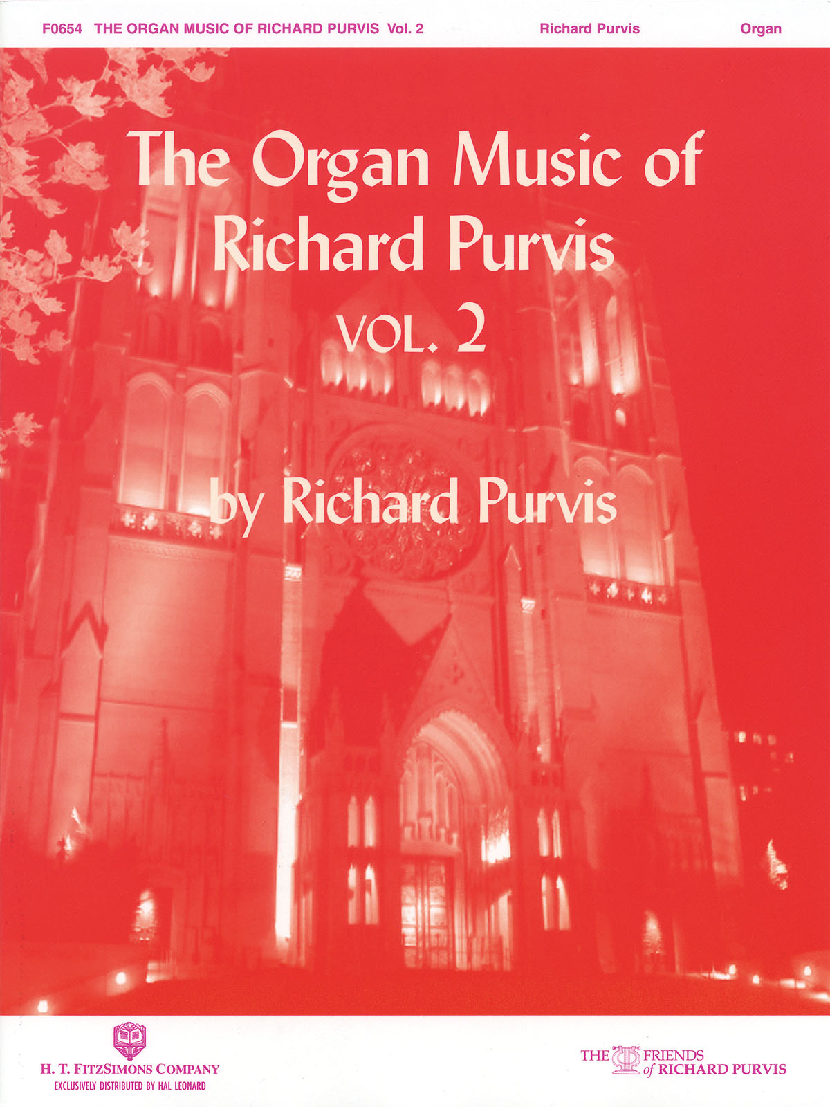 Richard Purvis: The Organ Music of Richard Purvis - Volume 2: Organ: Vocal Album
