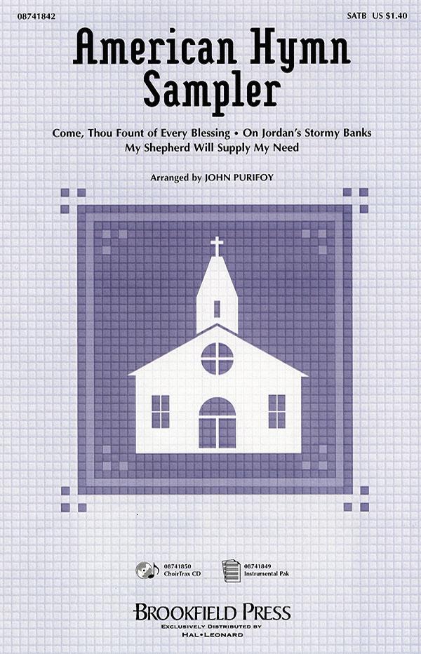 American Hymn Sampler (Medley): SATB: Vocal Score