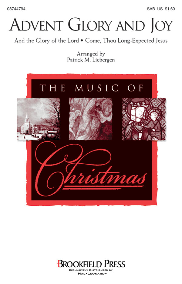 Advent Glory and Joy: SAB: Vocal Score