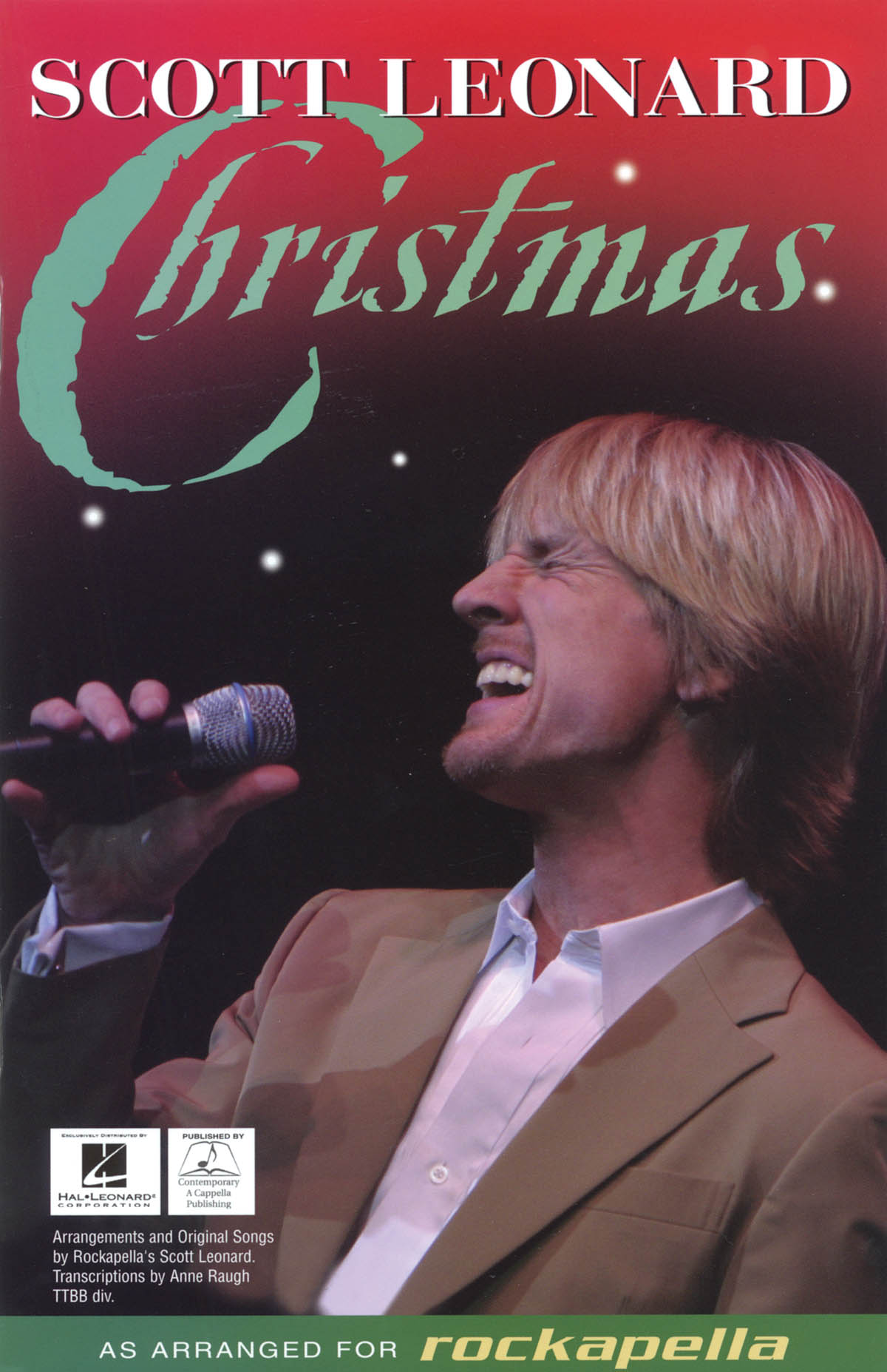 Scott Leonard Christmas: TTBB: Vocal Score
