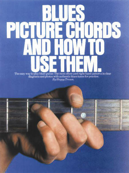 Blues Picture Chords and How to Use Them: Guitar: Instrumental Reference