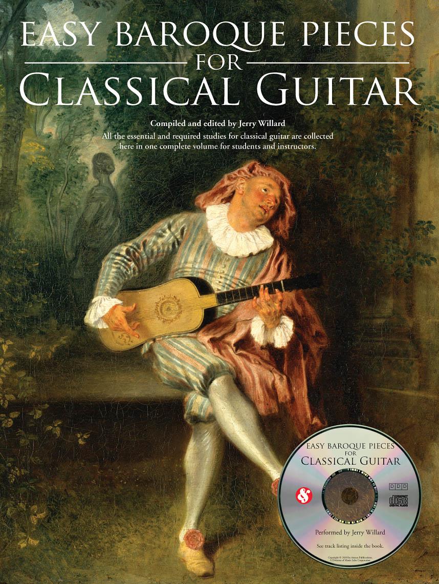 Easy Baroque Pieces for Classical Guitar: Guitar: Instrumental Album