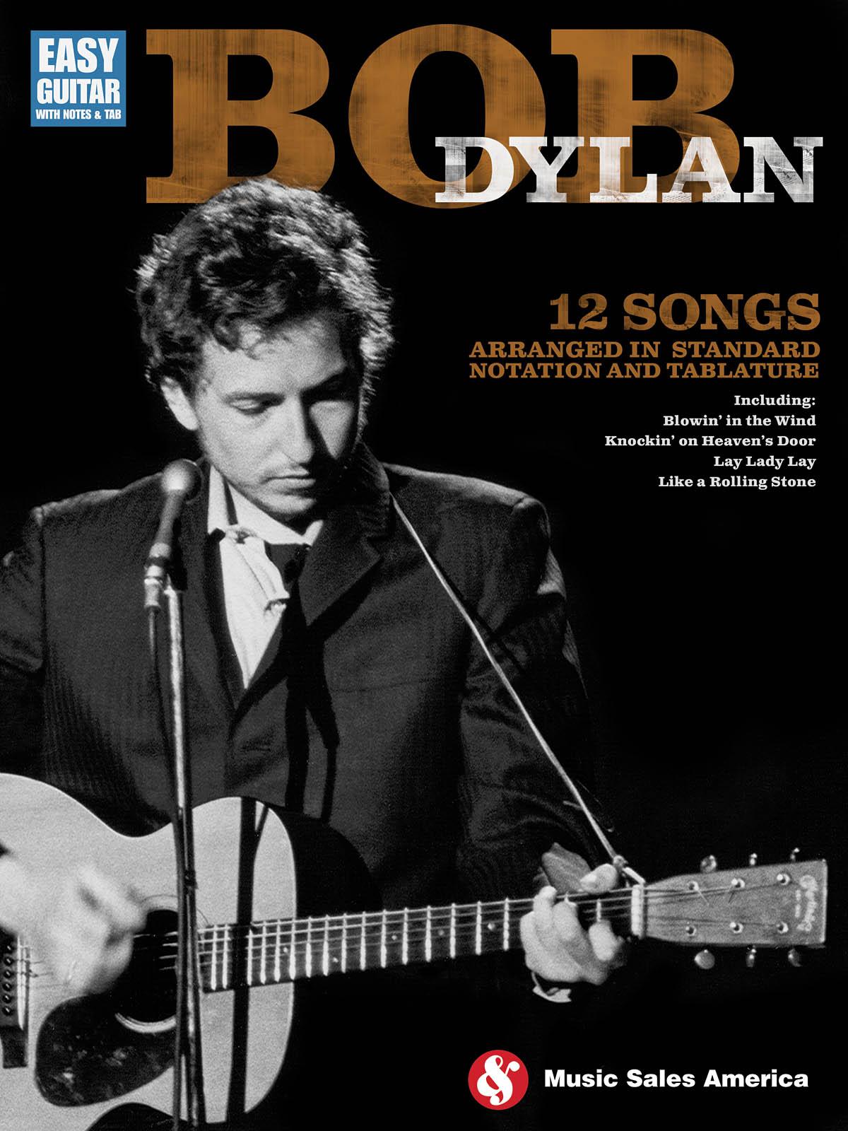 Bob Dylan: Bob Dylan - Easy Guitar: Guitar: Artist Songbook
