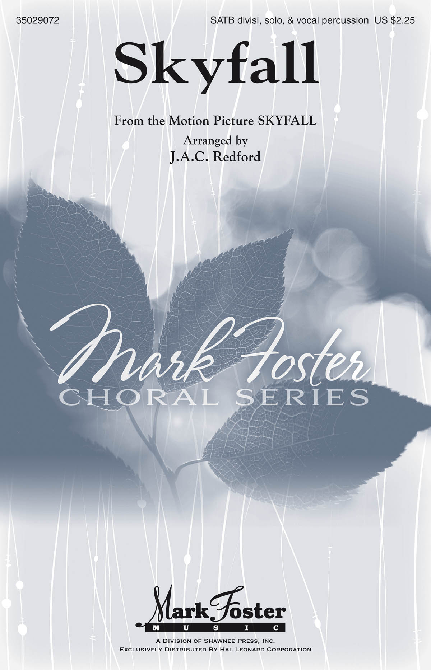 Adele Adkins Paul Epworth: Skyfall: SATB: Vocal Score