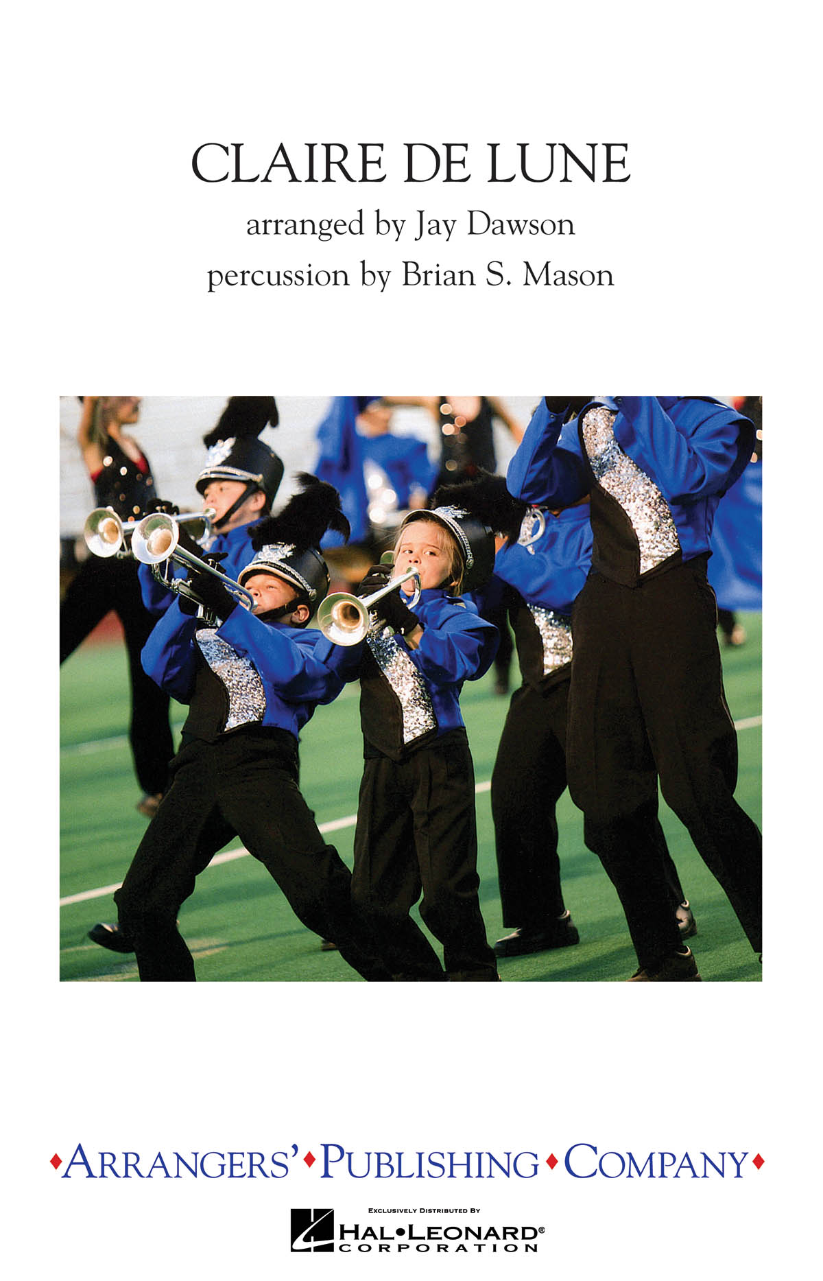 Claude Debussy: Claire Du Lune: Marching Band: Score & Parts