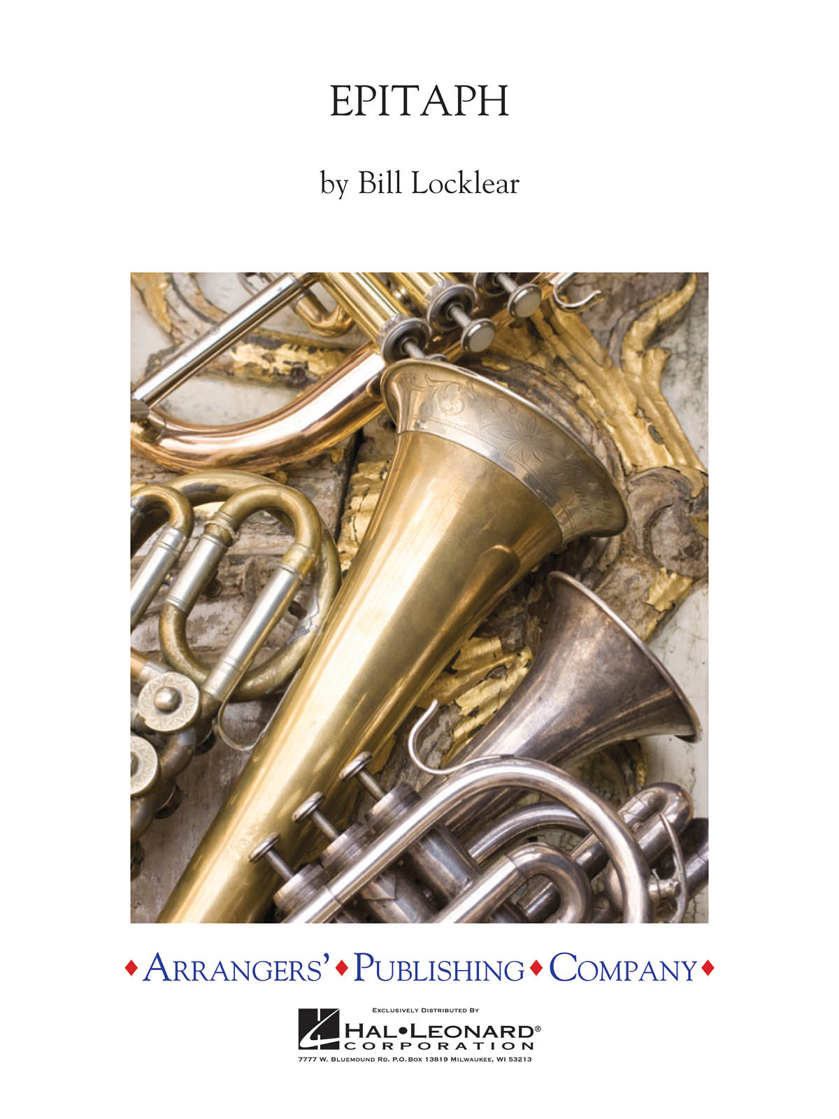Bill Locklear: Epitaph: Concert Band: Score & Parts