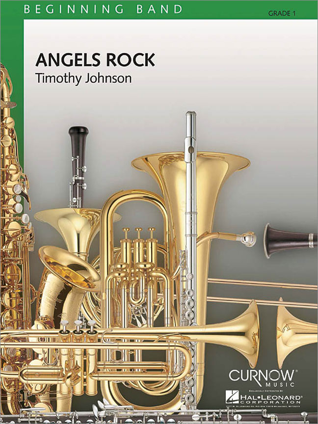 Angels Rock: Concert Band: Score