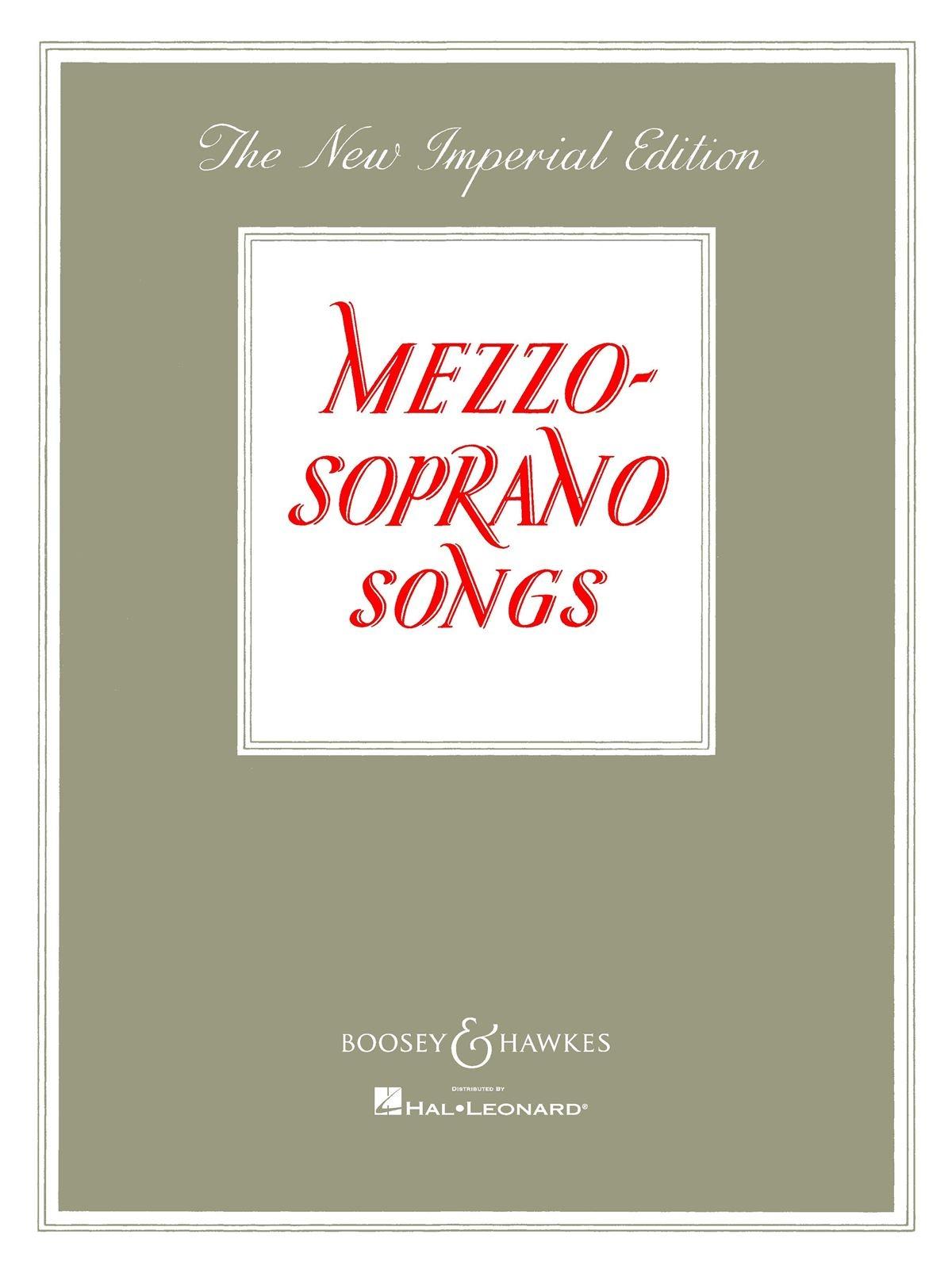 Mezzo Soprano Songs (New: Voice: Vocal Album