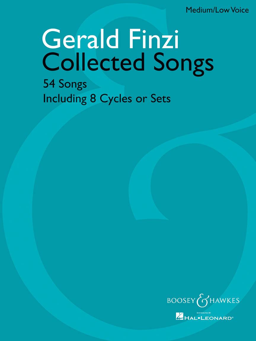Gerald Finzi: Collected Songs(54) Medium: Voice: Vocal Album
