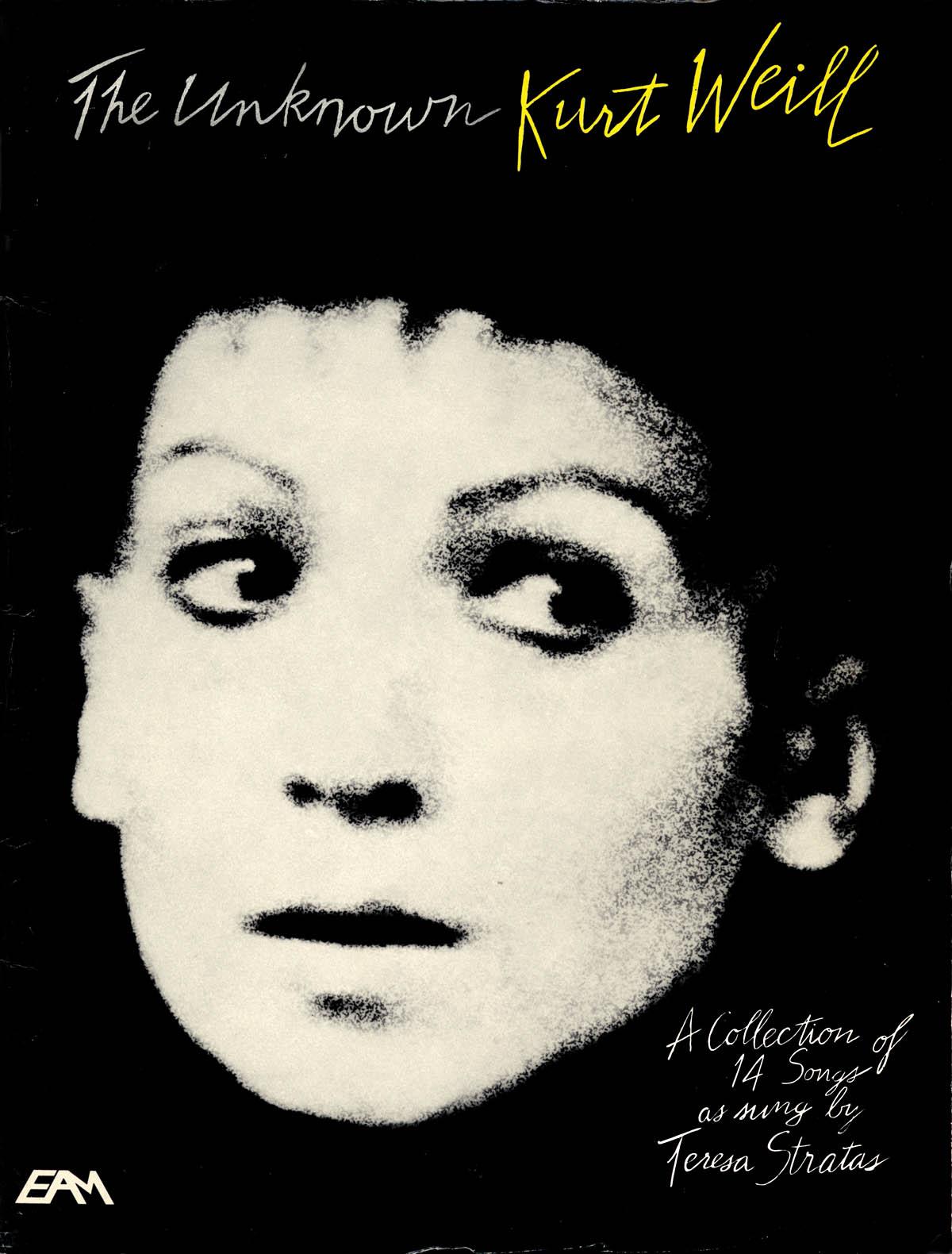 Kurt Weill: The Unknown Kurt Weill: Vocal: Vocal Album
