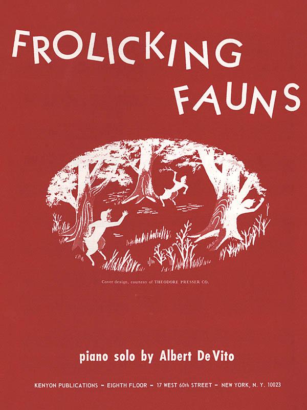 Albert De Vito: Frolicking Fauns: Piano: Instrumental Work