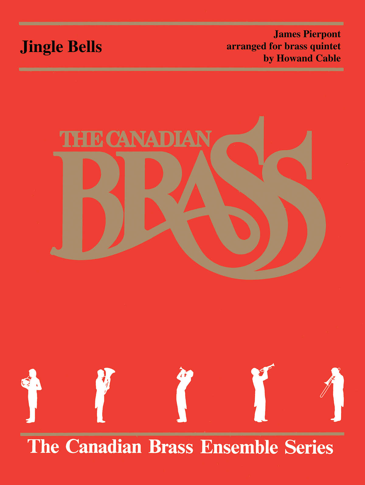 Traditional: Jingle Bells: Brass Ensemble: Score & Parts